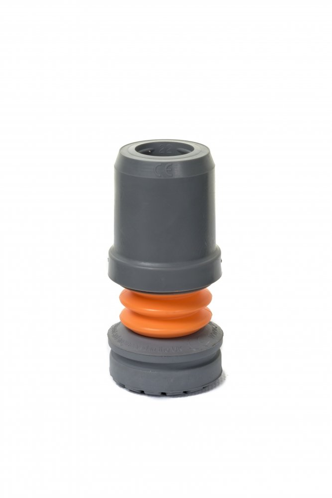 Flexyfoot Stokdop - Grijs - 16mm