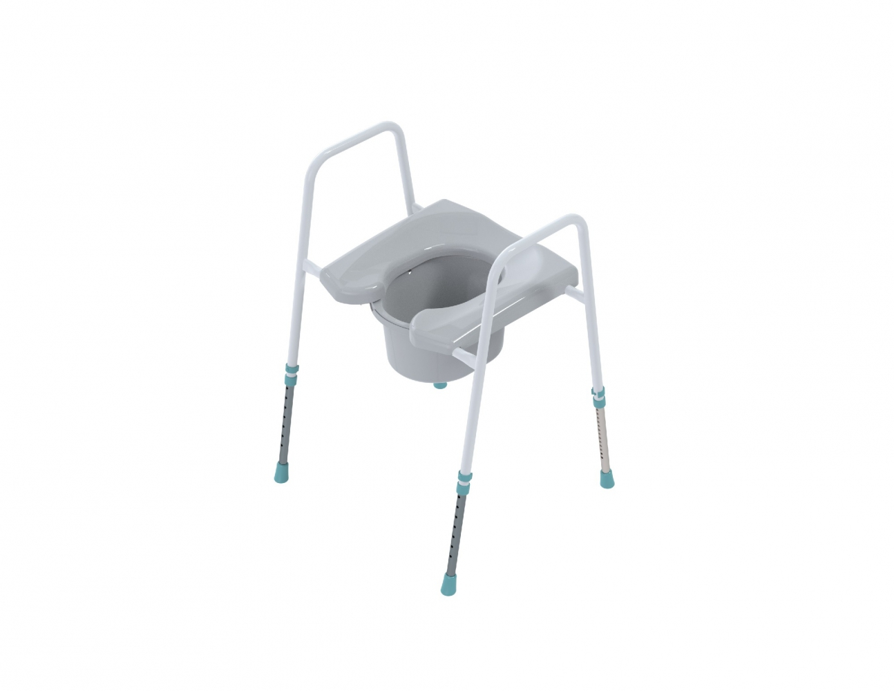 Prima toiletstoel - Hoefijzer
