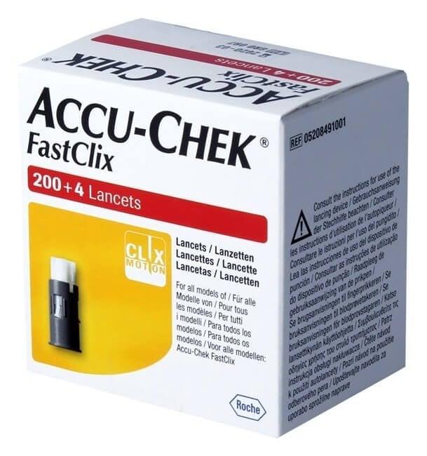 Accu-Chek Fastclix Lancet (204 st.)