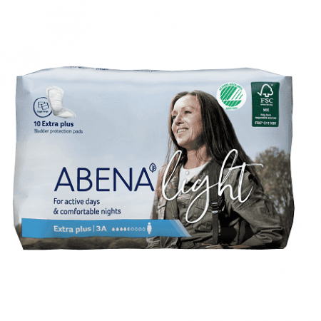 Abena Light Extra Plus 10 stuks verpakking