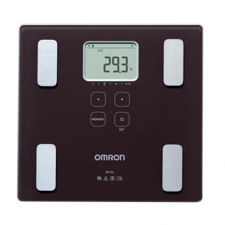 Omron weegschaal / lichaamscompositiemeter BF214