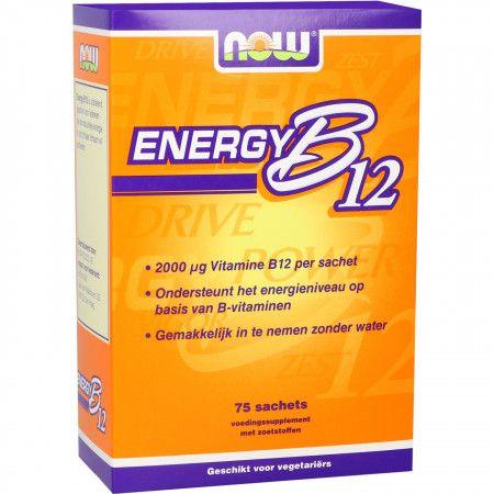 NOW Energy B12 2000 μg Sachets - 75 st