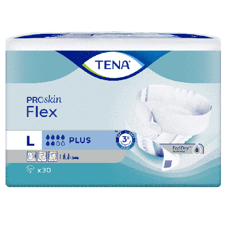 TENA Flex Plus - L - 30 stuks