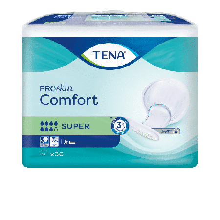 TENA Comfort Super Proskin - 36 Stuks