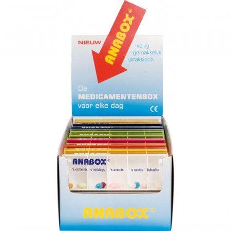 Anabox Dagbox Display - 16 Stuks