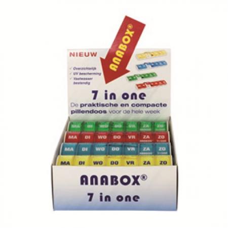 Anabox weekbox display