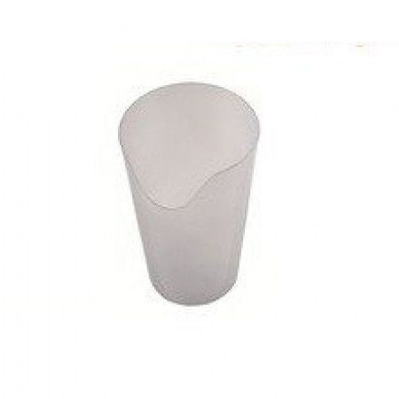 Beker neusuitsparing - clear