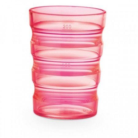 Beker Sure-Grip roze