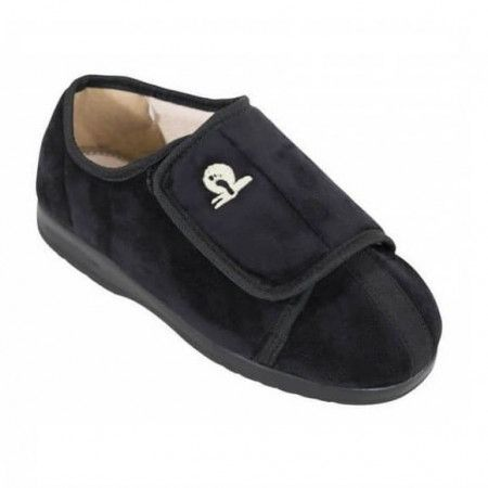 Cameron Pantoffels laag - Zwart