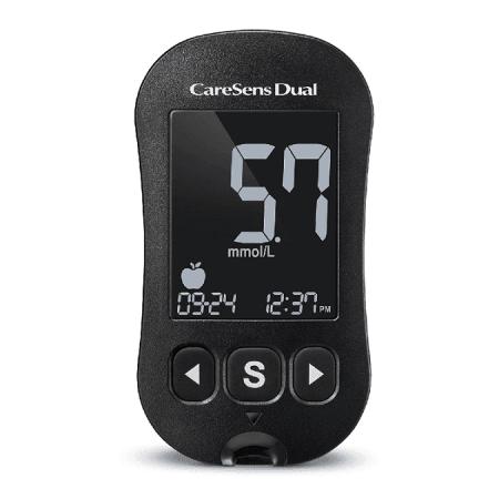 CareSens Dual Ketonen/Glucosemeter Startpakket