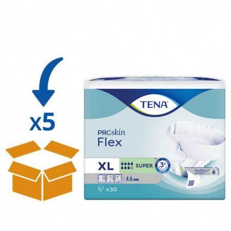 TENA Flex Super - XL - 30 Stuks   5 pakken van 30 stuks
