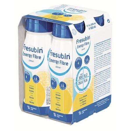 Fresenius Fresubin Energy Fibre Drink - Banaan - 4x200ml