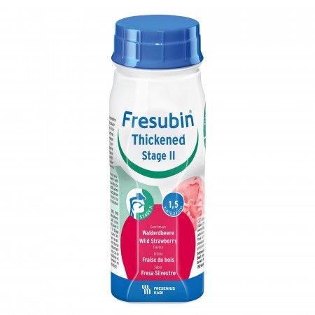 Fresenius Fresubin Thickened Drink Stage 2 Bosaardbei