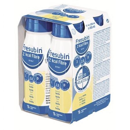 Fresubin 2kcal Fibre Drink - Vanille - 4x200ml