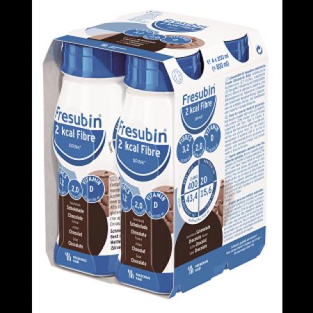 Fresubin 2 kcal Fibre Drink - Chocolade - 4x200ml