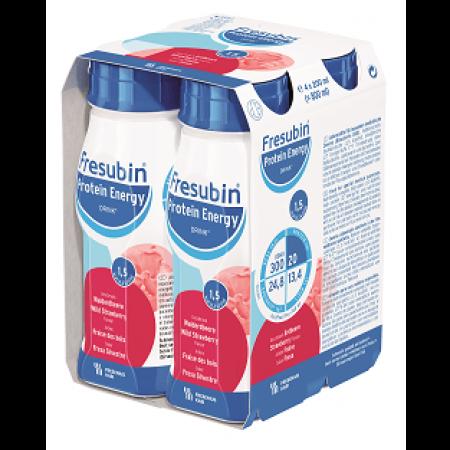 Fresubin Protein Energy Drink - Bosaardbei - 4x200 ml