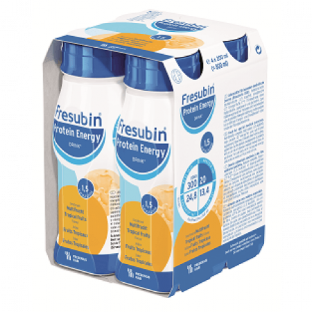 Fresubin Protein Energy Drink - Tropisch fruit - 4x200ml