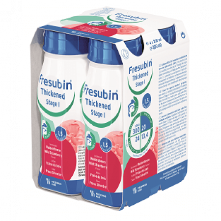 Fresubin Thickened Drink Stage 1 - Bosaardbei - 4x200ml
