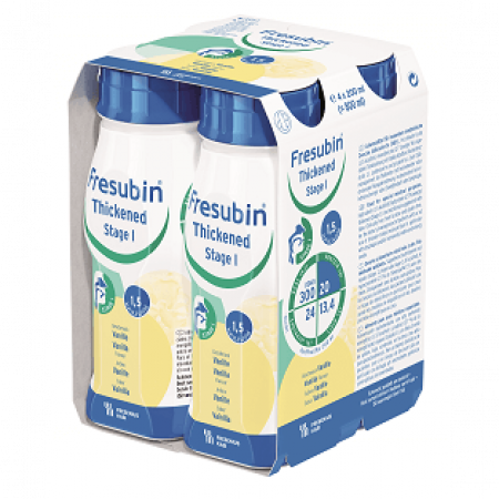 Fresubin Thickened Drink Stage 2 - Vanille - 4x200ml