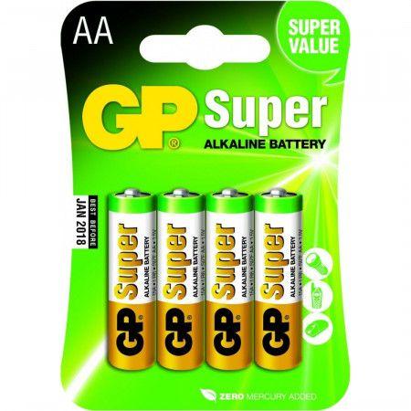 Super Alkaline AA Batterijen