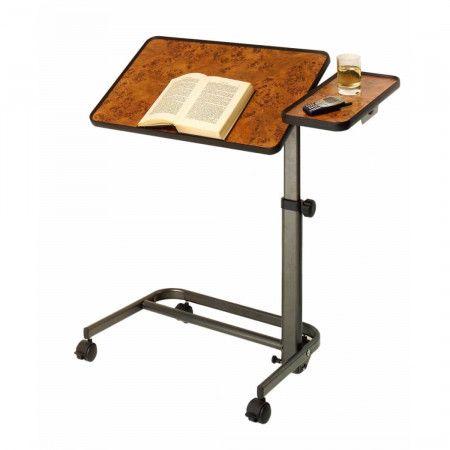 Verstelbare Bedleestafel met Zijplateau