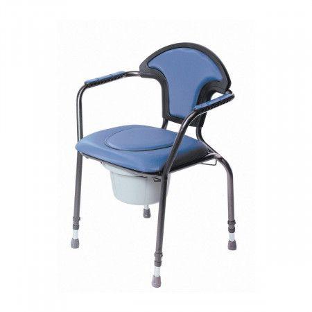 Herdegen Verstelbare Toiletstoel blauw