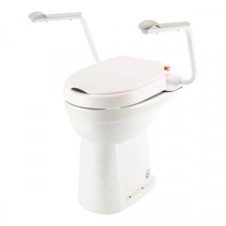 Etac Hi-Loo Toiletverhoger met Armleuningen