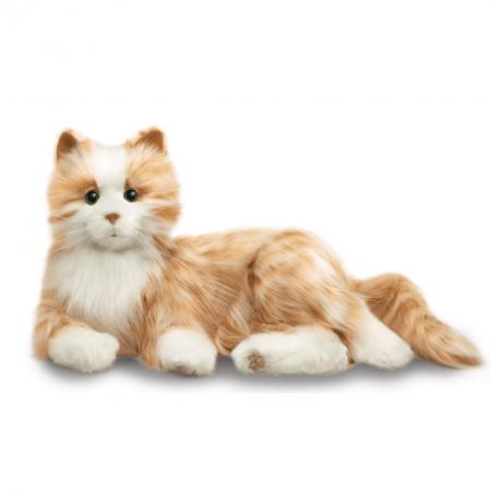 Interactieve Robot Kat voor Dementie - Oranje
