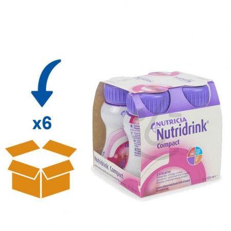 Nutridrink Compact Bosvruchten | 6 pakken van 4x125mlNutridrink Compact Bosvruchten | 6 pakken van 4x125ml