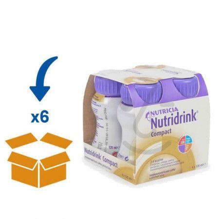 Nutridrink Compact Mokka | 6 pakken van 4x125ml