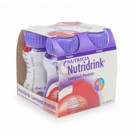 Nutridrink Compact Protein Rode Vruchten