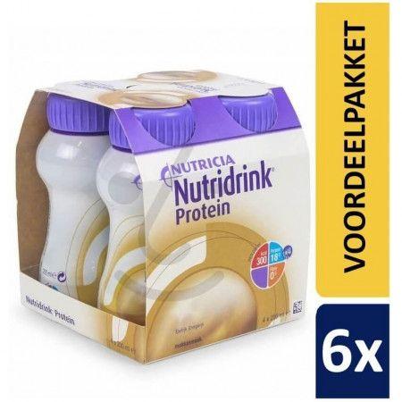 Nutridrink Protein Mokka | 6 pakken van 4x200ml