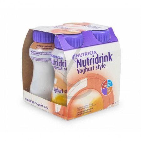 Nutridrink Yoghurt Style Perzik/Sinaasappel