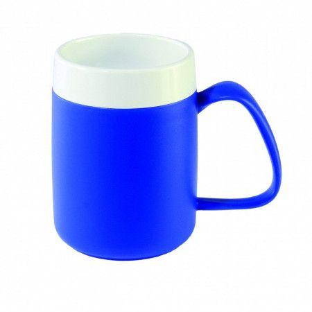 Ornamin Conische Warmhoudbeker blauw