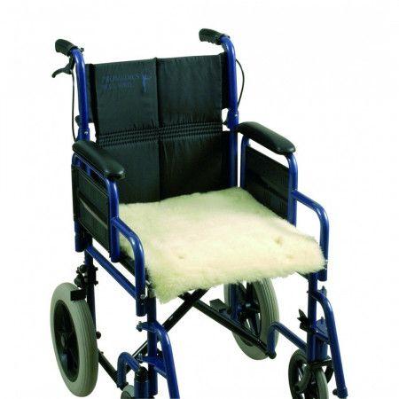 Vacht voor rolstoelzitting - zitting