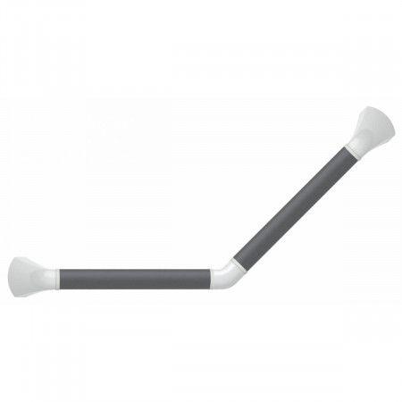 SecuCare Gehoekte Wandbeugel 45 - zwart/grijs