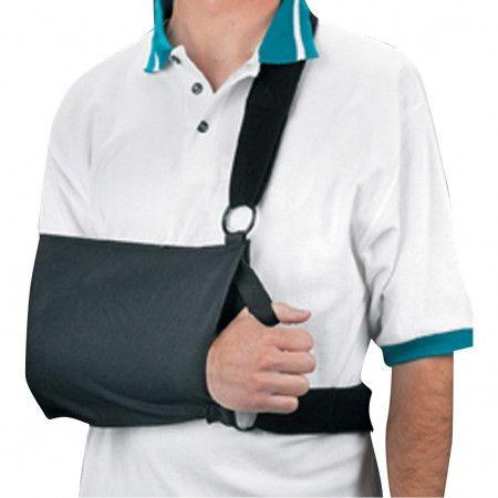 Shoulder sling immobilizer