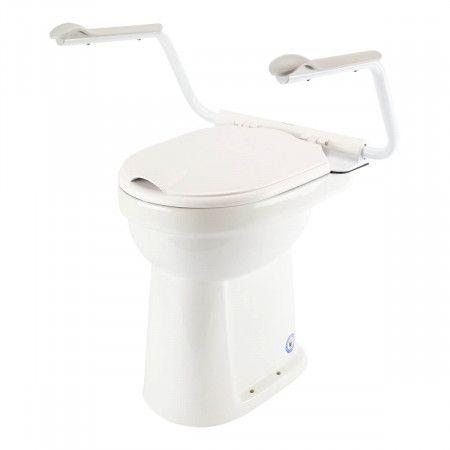 Support Toiletbril met Armsteunen