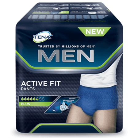 TENA Men Active Fit - Large - 10 Stuks