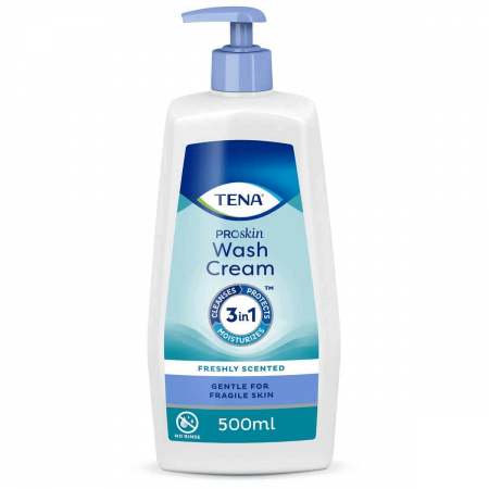 TENA Wash Cream 500 ml voorkant