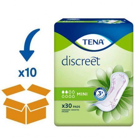 TENA Lady Discreet Mini | 10 pakken van 30 stuks