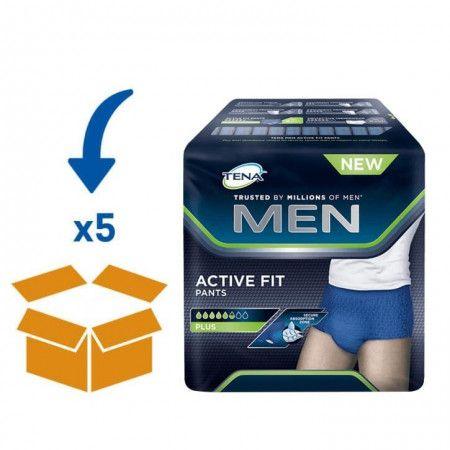 TENA Men Active Fit - Medium | 5 pakken van 12 Stuks