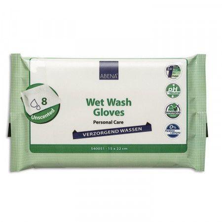Abena Verzorgend Wassen Washandjes - 8 stuks