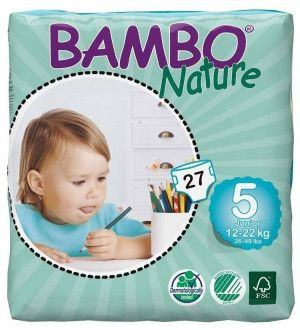 Abena Bambo Nature Junior 5 - 27 stuks - 12 tot 22 kg