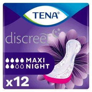 Tena Lady Maxi night 12 stuks Voorkant Verpakking