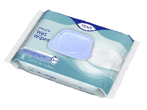 TENA Wet Wipe met dispenser
