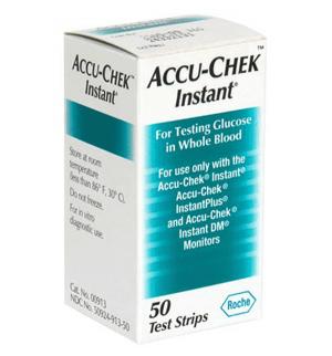 Accu-Chek Instant Teststrip (50 st.)