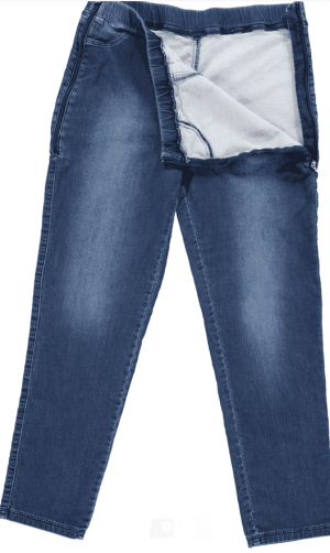 Be it! by Jenn Rolstoelbroek Jeans Man