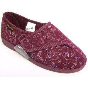 Dunlop Pantoffels Dames BlueBell - Burgundy