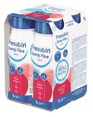Frebini Energy Drink - Aardbei - 4x200ml